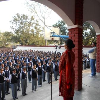 Awareness Program Being Conducted in a school in KASHIPUR , UTTARAKHAND on 23RD NOVEMBER 2015