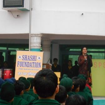 Awareness Program Being Conducted in a school in KASHIPUR , UTTARAKHAND December 2015